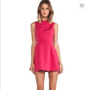 Keepsake pink scuba dress - size XS